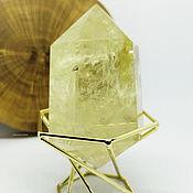 Фен-шуй и эзотерика handmade. Livemaster - original item Vogel Citrine Crystal 77 mm. Handmade.