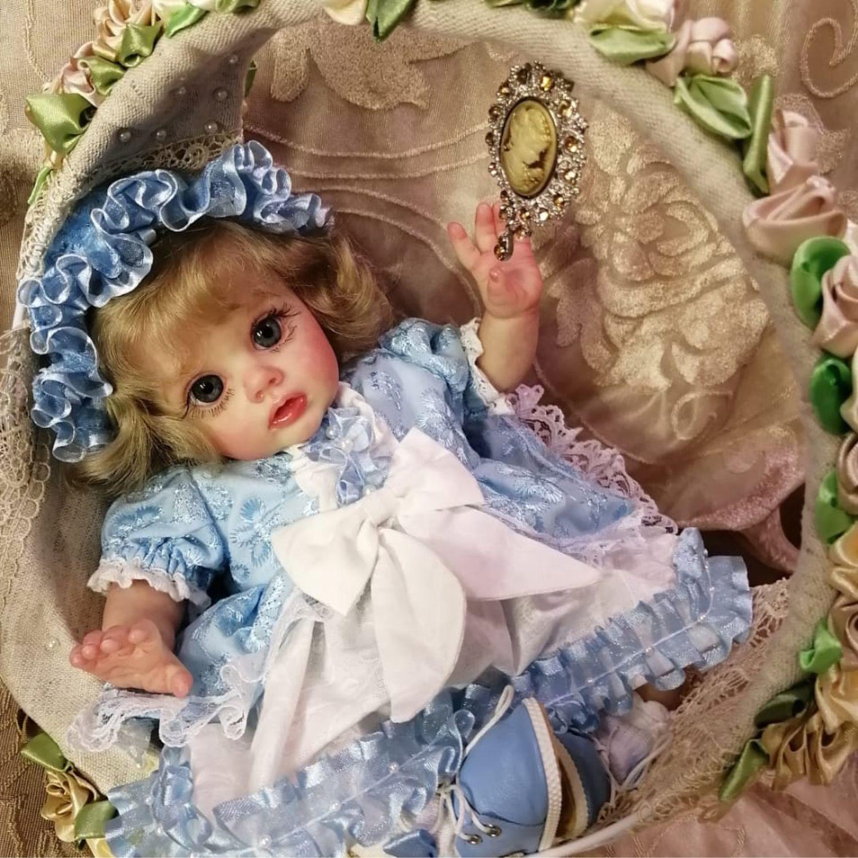 Композиция  эльфичка Фло на качелях от Натальи Блик, Куклы Reborn, Балашиха,  Фото №1