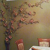 Для дома и интерьера ручной работы. Ярмарка Мастеров - ручная работа Панно из кожи. Handmade.