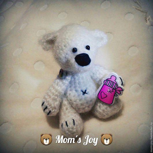 Мишки ручной работы. Медвежонок Кнут от Mom`s Joy. Ярмарка Мастеров.