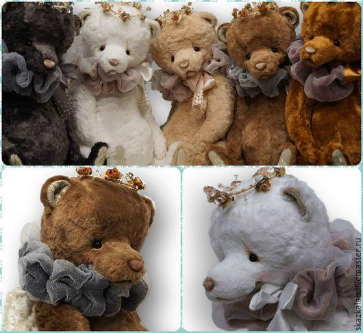 Мишки Тедди ручной работы. Ярмарка Мастеров - ручная работа. Купить Рождественские ангелы (40 см). Handmade. Мишка тедди