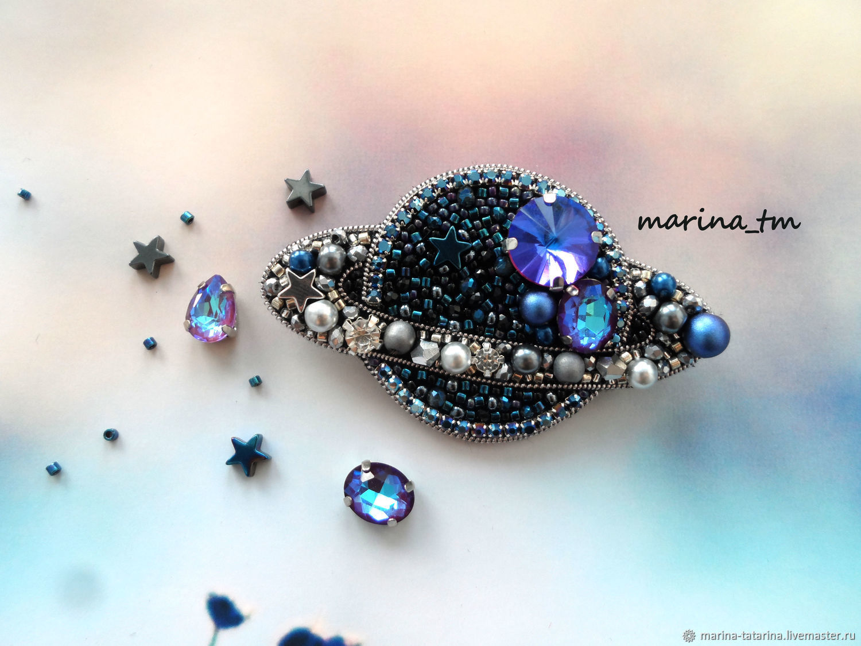 'Planet ' brooch, Brooches, Ermakovskoe,  Фото №1