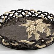 Посуда handmade. Livemaster - original item Plate Milady. Handmade.
