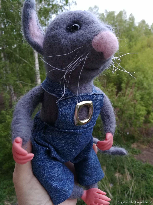Мышь с сыром, Кукольная еда, Новосибирск,  Фото №1
