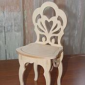 Материалы для творчества handmade. Livemaster - original item Doll high chair.234.. Handmade.