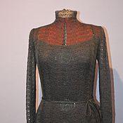 Одежда ручной работы. Ярмарка Мастеров - ручная работа Кофточка из мохера, с маечкой. Handmade.