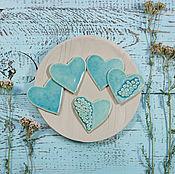 Украшения handmade. Livemaster - original item Brooch Heart. Handmade.