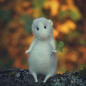"""Куклы и игрушки handmade. Livemaster - original item """"Autumn mouse"""". Handmade."""