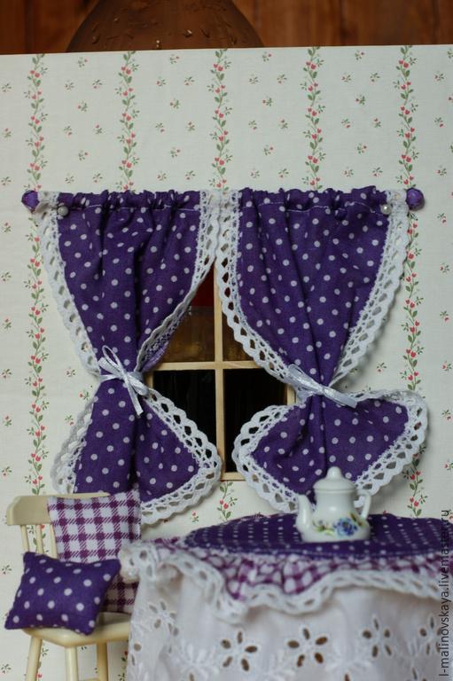 Куклы и игрушки ручной работы. Ярмарка Мастеров - ручная работа. Купить Миниатюра Кухонный декор для кукольного домика. Handmade. Разноцветный