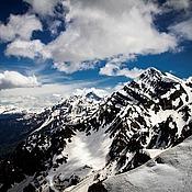 Картины и панно ручной работы. Ярмарка Мастеров - ручная работа Лучше гор могут быть только горы.... Handmade.