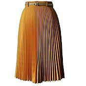Одежда ручной работы. Ярмарка Мастеров - ручная работа Юбочка-солнце гофре. Handmade.