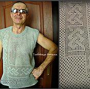 """Одежда ручной работы. Ярмарка Мастеров - ручная работа Майка""""Кельтский угол"""".. Handmade."""