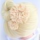 Заколка свадебная цветок для волос