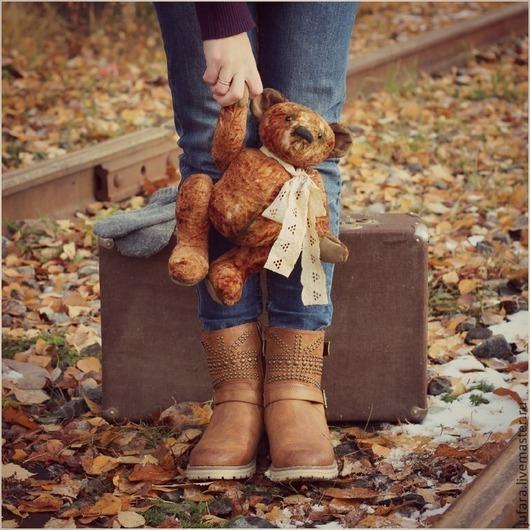 Мишки Тедди ручной работы. Ярмарка Мастеров - ручная работа. Купить Teddy bear - ХТ. Handmade. Коричневый, винтаж