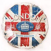 """Посуда ручной работы. Ярмарка Мастеров - ручная работа Тарелка """"Ода Лондону"""". Handmade."""