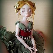 Куклы и игрушки ручной работы. Ярмарка Мастеров - ручная работа Лесная эльфочка. Handmade.