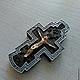 Комплекты аксессуаров ручной работы. Ярмарка Мастеров - ручная работа. Купить Крестик нательный деревянный №03-2. Handmade.