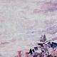 """Абстракция ручной работы. Заказать Картина маслом """"Мой розовый закат"""". Марина Маткина Вдохновение красотой. Ярмарка Мастеров."""