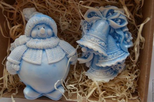купить новогодние подарки в москве подарочные наборы снеговик деде мороз подарочное мыло ручной работы новогоднее мыло ручной работы купить в москве