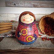 Куклы и игрушки ручной работы. Ярмарка Мастеров - ручная работа Ванька-встанька(неваляшка с перезвоном). Handmade.