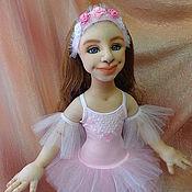 Куклы и игрушки ручной работы. Ярмарка Мастеров - ручная работа Балерина - портретная каркасная кукла. Handmade.