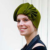 Аксессуары ручной работы. Ярмарка Мастеров - ручная работа шляпа «Олива». Handmade.