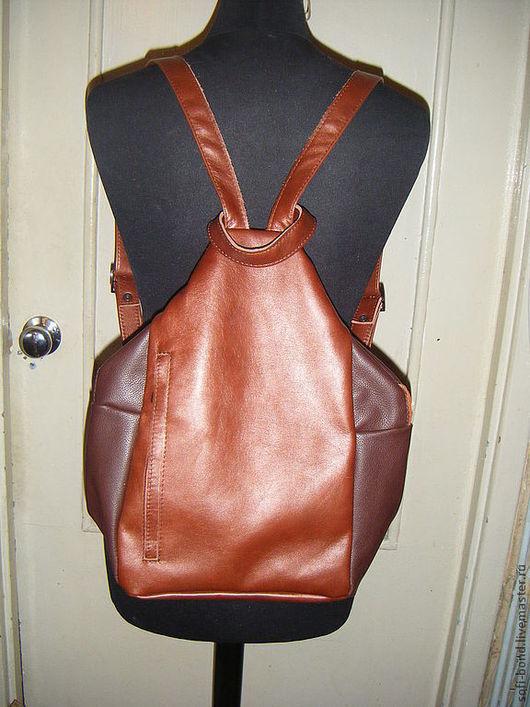 Рюкзаки ручной работы. Ярмарка Мастеров - ручная работа. Купить рюкзак  женский кожаный. Handmade. Рюкзак, подарок женщине
