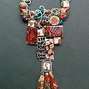 """Украшения ручной работы. Ярмарка Мастеров - ручная работа Колье """"Гауди"""". Handmade."""