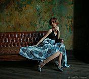 Одежда ручной работы. Ярмарка Мастеров - ручная работа Шелковое платье от дизайнера.. Handmade.