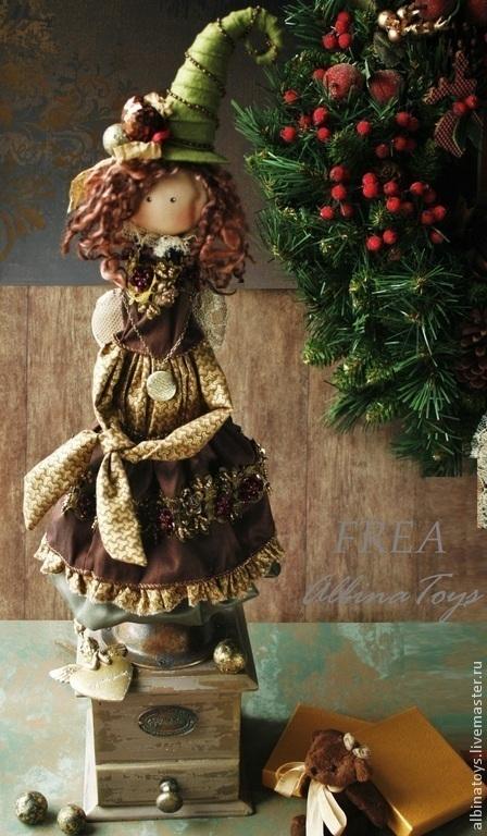 коллекционный ангел новогодний подарок