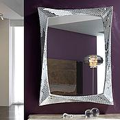 Для дома и интерьера ручной работы. Ярмарка Мастеров - ручная работа Зеркало в мозаичной раме, прямоугольное. Handmade.
