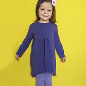"""Работы для детей, ручной работы. Ярмарка Мастеров - ручная работа """"Фиолет"""". Платье трикотажное. Handmade."""