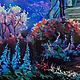 """Пейзаж ручной работы. """"Сад Полной Луны"""" картина маслом. ЯРКИЕ КАРТИНЫ Наталии Ширяевой. Интернет-магазин Ярмарка Мастеров."""
