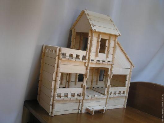 """Куклы и игрушки ручной работы. Ярмарка Мастеров - ручная работа. Купить Кукольный домик """"Особняк"""". Handmade. Кукольный дом"""