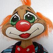 Куклы и игрушки ручной работы. Ярмарка Мастеров - ручная работа Рыжий Клоун. Handmade.