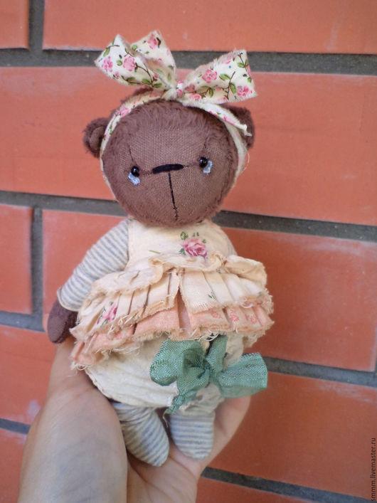 Мишки Тедди ручной работы. Ярмарка Мастеров - ручная работа. Купить Жужу. Handmade. Коричневый, мишка девочка