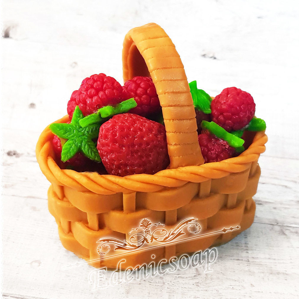 'Gifts of nature' set soap handmade strawberry basket, Soap, Moscow,  Фото №1
