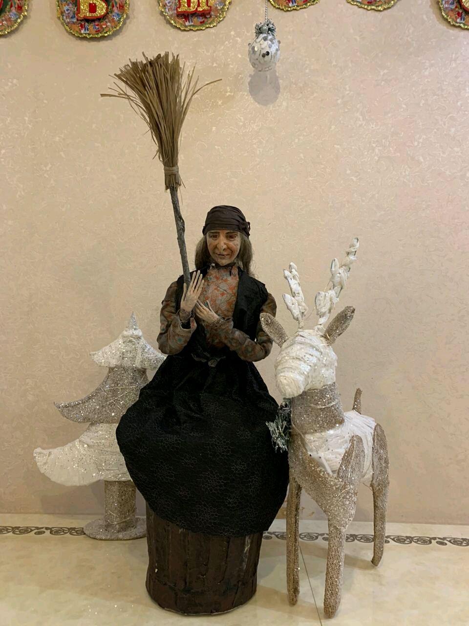 Баба Яга, Мягкие игрушки, Санкт-Петербург,  Фото №1
