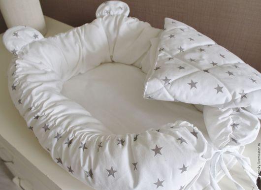 Для новорожденных, ручной работы. Ярмарка Мастеров - ручная работа. Купить кокон babynest+одеяльце. Handmade. Babynest, малышам, коконы