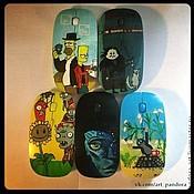 Сувениры и подарки ручной работы. Ярмарка Мастеров - ручная работа Любой рисунок на компьютерной мышке. Handmade.