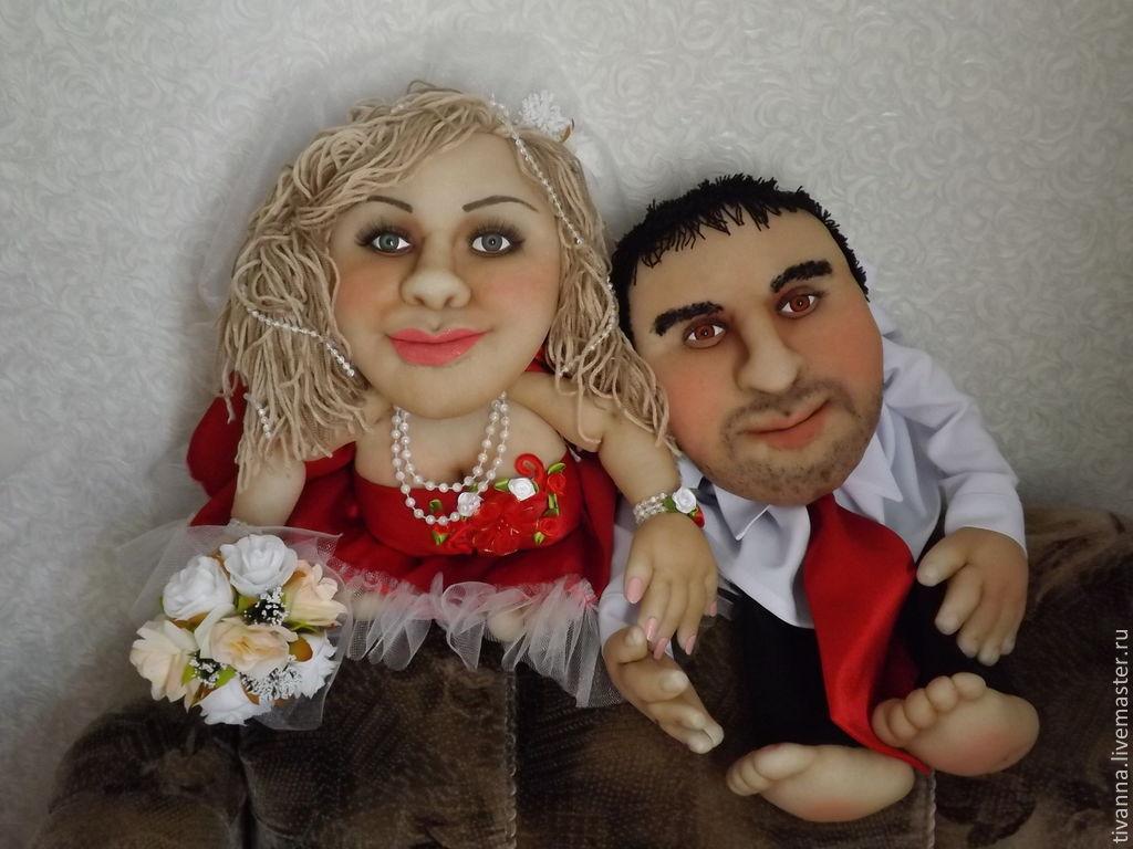 Кукла в подарок на свадьбу 466