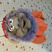 Куклы и игрушки ручной работы. Ярмарка Мастеров - ручная работа Лучший подарок.кукла -попик.гном в шляпе. Handmade.