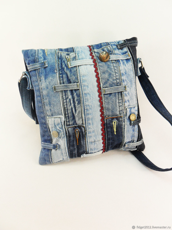 4088e9aaccb9 Джинсовая сумка,сумка из джинса через плечо,переделка джинсов ...