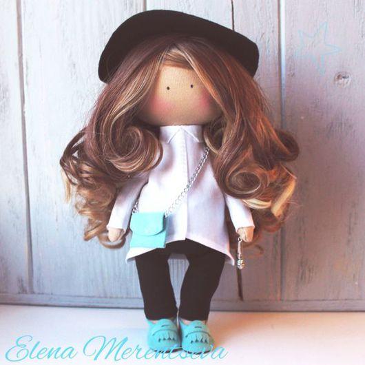 Коллекционные куклы ручной работы. Ярмарка Мастеров - ручная работа. Купить Интерьерная портретная куколка. Handmade. Кукла ручной работы