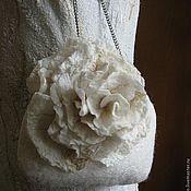 """Одежда ручной работы. Ярмарка Мастеров - ручная работа Валяное платье """"Шелковые мечты"""". Handmade."""
