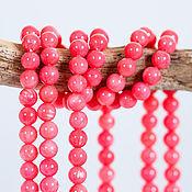 Материалы для творчества handmade. Livemaster - original item 1441_ Pink coral 4 mm, Natural coral, Round beads coral. Handmade.