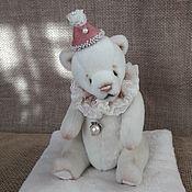 Куклы и игрушки ручной работы. Ярмарка Мастеров - ручная работа Жемчужинка 18см (мишка Тедди). Handmade.