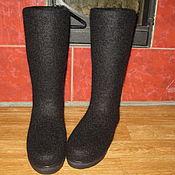 """Обувь ручной работы. Ярмарка Мастеров - ручная работа Войлочные сапоги """"Lusi"""". Handmade."""