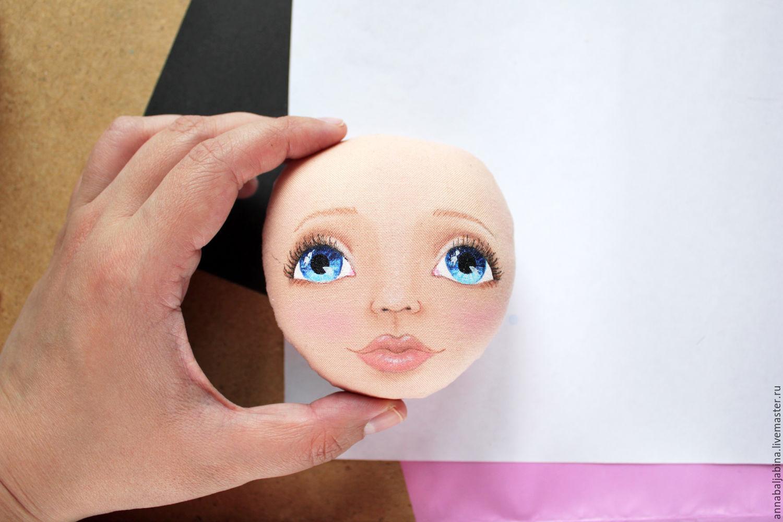 Лицо куклы мастер класс