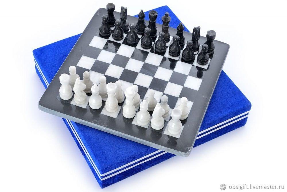 Chess made of stone Marble 30, PakShah, Chess, St. Petersburg,  Фото №1